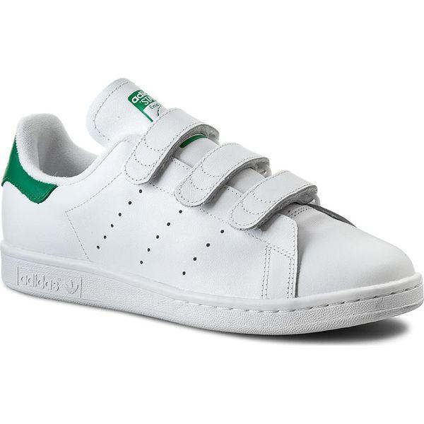 buty adidas biały green