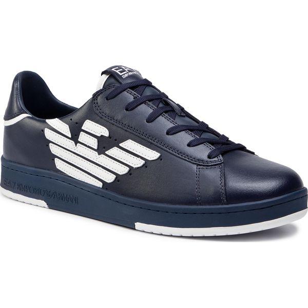 a3f735e405 Sneakersy EA7 EMPORIO ARMANI - X8X043 XK075 A138 Navy White - Buty ...