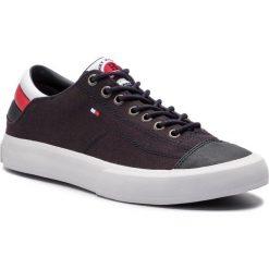 79b017e9f5532 Tenisówki TOMMY HILFIGER - Long Lace Sneaker FM0FM01947 Midnight 403.  Trampki męskie marki Tommy Hilfiger