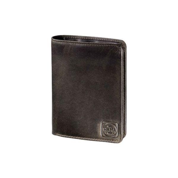 cc4833eb49d7b Portfel klasyczny HAMA H4 Paris ciemny brąz - Czarne portfele męskie marki  HAMA