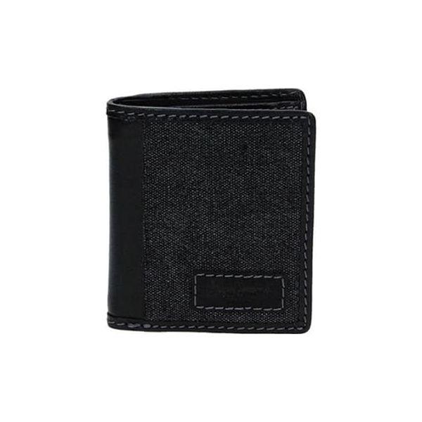 193fc8e1d51e3 Skórzany portfel w kolorze czarnym - (S)8