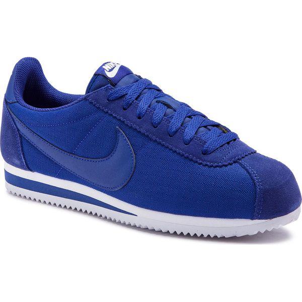 sports shoes 76e80 e0310 Buty NIKE - Classic Cortez Nylon 807472 407 Deep Royal Blue - Buty ...