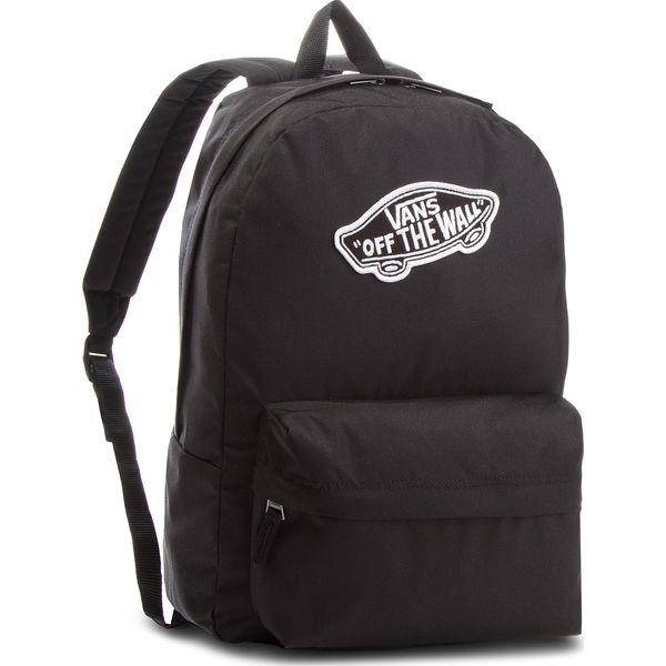 b659228abcc Plecak VANS - Realm Backpack VN0A3UI6BLK Black - Czarne plecaki ...