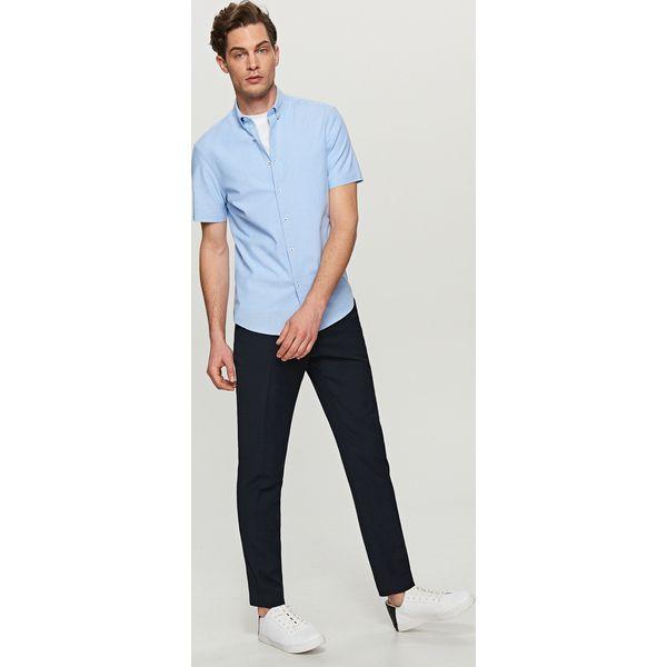 pretty nice new high wholesale dealer Gładka koszula slim fit - Niebieski