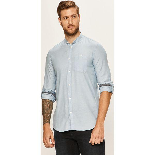 Tom Tailor Denim Koszula Niebieskie koszule męskie Tom  7KIzc