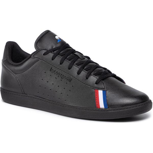 znana marka za pół rozmiar 7 Sneakersy LE COQ SPORTIF - Courtstar Sport 1920100 Triple Black