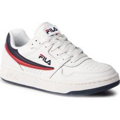 Wyprzedaż białe buty sportowe męskie Fila, bez kaptura