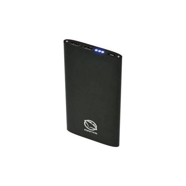 dd129d2e617611 Powerbank MANTA MPB980B 8000 mAh Czarny - Powerbanki marki MANTA. Za ...