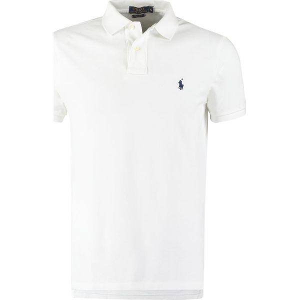 2315af7a4 Polo Ralph Lauren CUSTOM FIT Koszulka polo white - Koszulki polo ...
