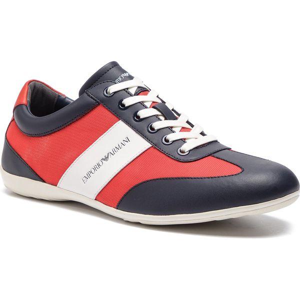 98fb963c3999a Sneakersy EMPORIO ARMANI - X4C475 XL473 A052 Night/White/Lava/Lav ...