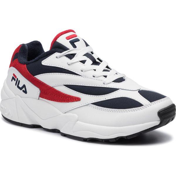 Sneakersy FILA V94M Low 1010255.01M WhiteFila NavyFila Red