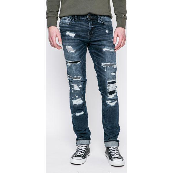 8fdeda9fc5170 Guess Jeans - Jeansy - Niebieskie jeansy męskie marki Guess Jeans