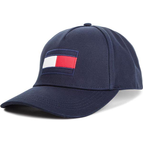 139042e25 Czapka z daszkiem TOMMY HILFIGER - Flag Cap AM0AM04299 413 - Czapki ...