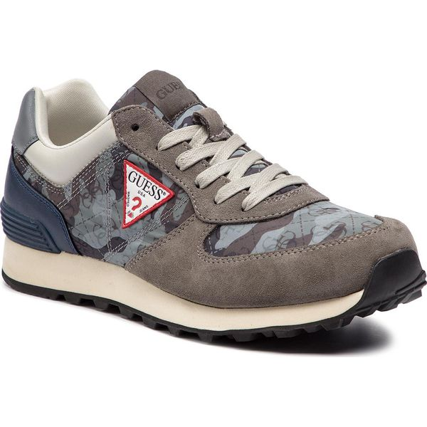 685c2a3bc1106 Sneakersy GUESS - Charlie FM6CHA FAL12 GREY - Buty sportowe na co ...