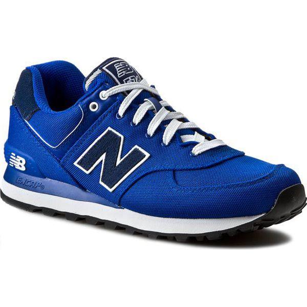 Sneakersy NEW BALANCE - ML574POB Niebieski - Buty sportowe na co dzień  męskie marki New Balance. W wyprzedaży za 249.00 zł. - Buty sportowe na co  dzień ... 4daea09f6a23b