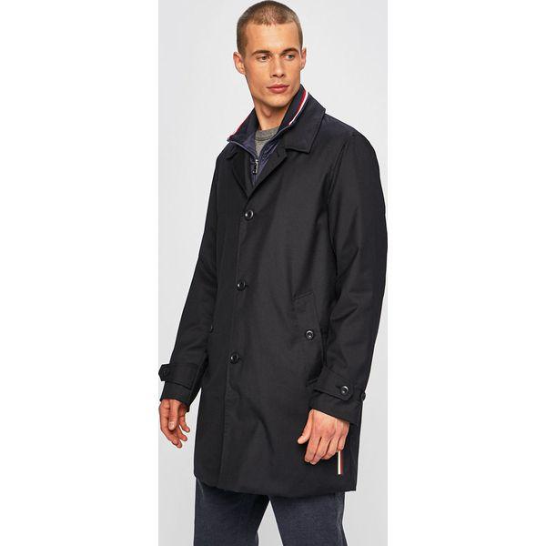 Niebieskie kurtki i płaszcze męskie Tommy Hilfiger