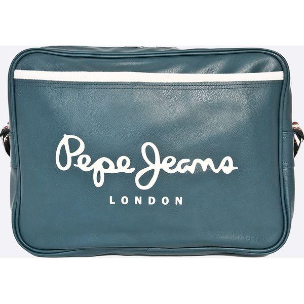 8aa743a916f485 Pepe Jeans - Torba - Szare torby męskie na ramię Pepe Jeans, w paski ...