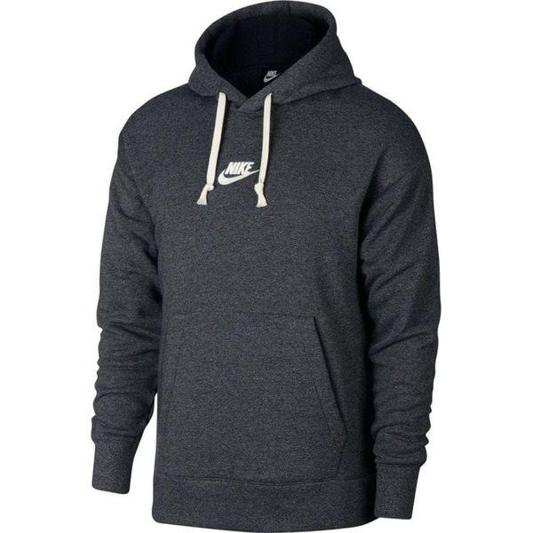 dobra sprzedaż na wyprzedaży najlepiej sprzedający się Nike bluza męska M Nsw Heritage Hoodie Po Black Htr Sail L