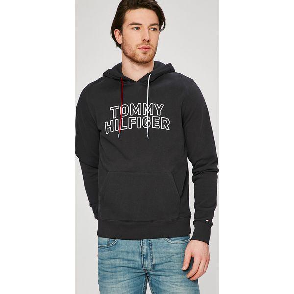 58ef0e661d5e5 Tommy Hilfiger - Bluza - Czarne bluzy nierozpinane męskie marki ...