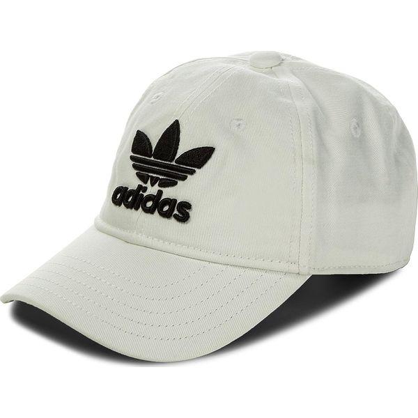 c90eeccdf9f5b Czapka adidas - Trefoil Cap BR9720 White/Black - Białe czapki męskie ...