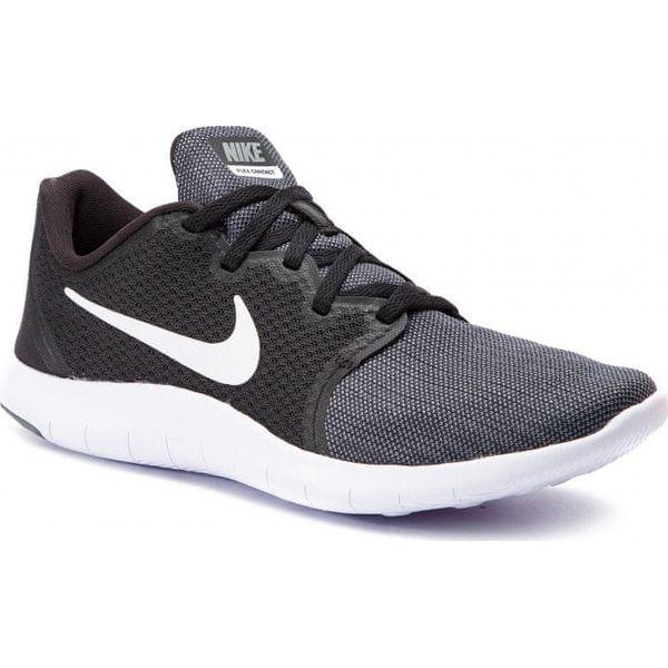 sprzedaż online wyprzedaż w sklepie wyprzedażowym sprzedaje Nike buty do biegania męskie Flex Contact 2 Black White-Dark Grey-Cool Grey  40,5