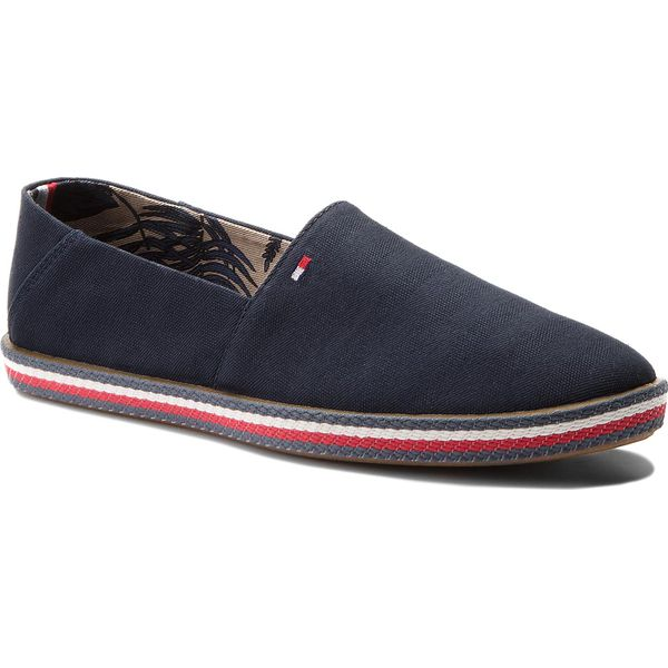 29ea12fe02c78 Półbuty TOMMY HILFIGER - Easy Summer Slip On FM0FM01803 Midnight 403 ...