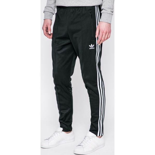 d4f67ce16af39b adidas Originals - Spodnie Beckenbauer - Czarne długie spodnie ...