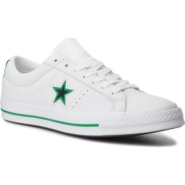 3a7454a20dd89 Tenisówki CONVERSE - One Star Ox 161589C White/Black/Converse Green ...