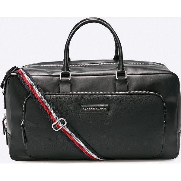 26cd5e36b456d Tommy Hilfiger - Torba - Czarne torby męskie na ramię marki Tommy Hilfiger