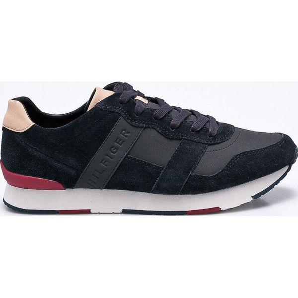 a5b87ccfb69c4 Tommy Hilfiger - Buty - Czarne buty sportowe na co dzień męskie marki Tommy  Hilfiger, z gumy, sportowe. W wyprzedaży za 349.90 zł.