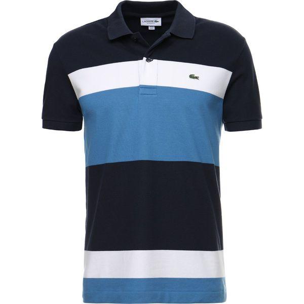 42aaa6f40 Lacoste REGULAR FIT Koszulka polo abyssal blue/medwaywhite ...