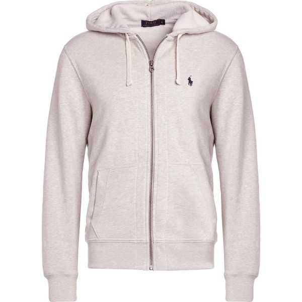 d068b01f05a355 Polo Ralph Lauren HOOD Bluza rozpinana light grey - Kardigany męskie ...
