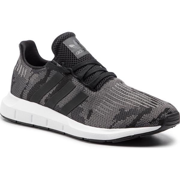 Adidas Swift Run r. 46 23 mskie nowe siatka czarne buty