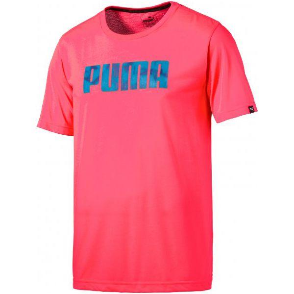 72d6b622e Puma Koszulka Sportowa Future Tec Tee Bright Plasma - Różowe t ...