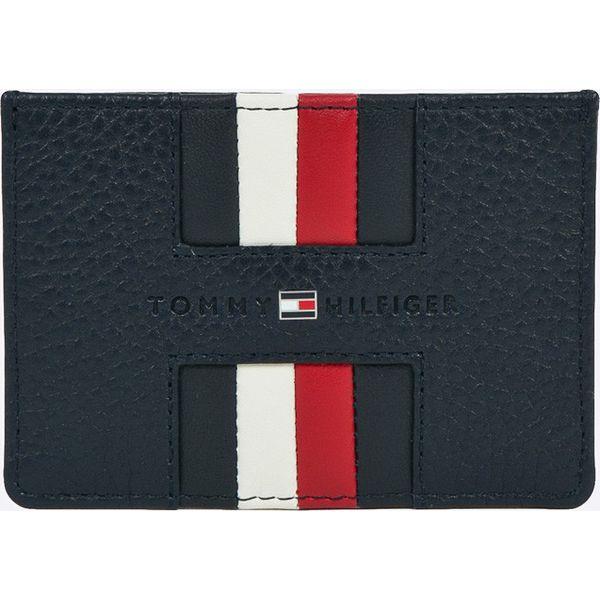 4076d3567f652 Tommy Hilfiger - Portfel skórzany - Czarne portfele męskie marki ...