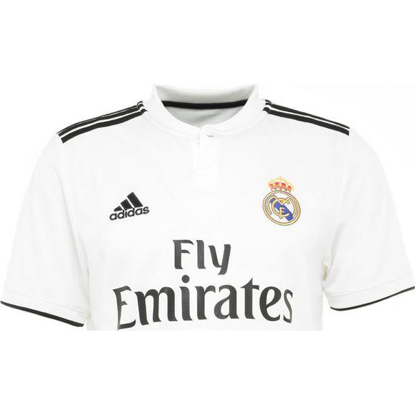 adidas Performance REAL MADRID HOME Artykuły klubowe core whiteblack