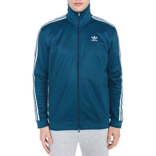 adidas Originals Beckenbauer Bluza Niebieski Bluzy rozpinane męskie niebieskie w Bibloo