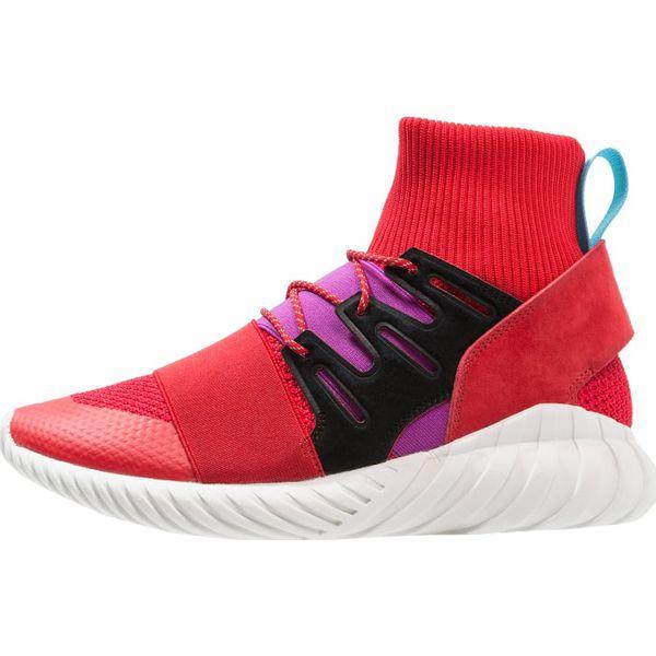 best service 7f15b d075a adidas Originals TUBULAR DOOM WINTER Sneakersy wysokie scarlet/shock purple