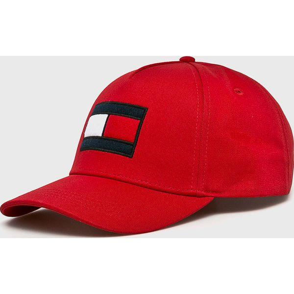 52643cd59f187 Tommy Hilfiger - Czapka - Czerwone czapki męskie marki Tommy ...