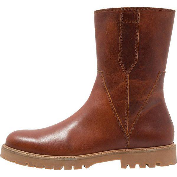 23dedfe22cac8 Zign Śniegowce cognac - Brązowe buty zimowe męskie marki Zign, z ...
