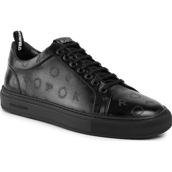 Sneakersy KARL LAGERFELD KL21014 Black LthrMono 00X