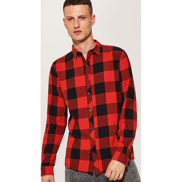 1c5983585a97fd Koszula w kratę - Czerwony - Koszule męskie marki House. W ...