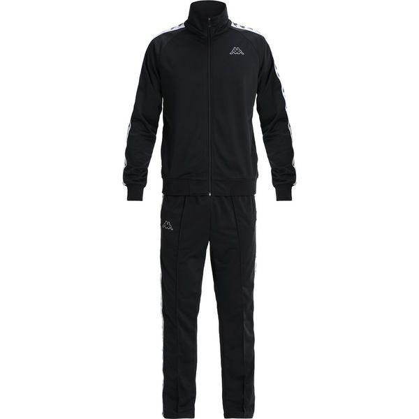 75e67d63f Kappa BANDA DUEDUEDUE Dres black/white - Czarne spodnie dresowe męskie Kappa,  z dresówki. Za 509.00 zł. - Spodnie dresowe męskie - Spodnie i szorty męskie  ...
