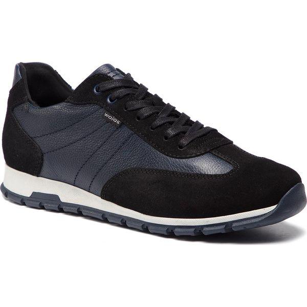 e242c1f7f0e0e Sneakersy WOJAS - 9056-71 Czarny/Granat - Buty sportowe na co dzień ...