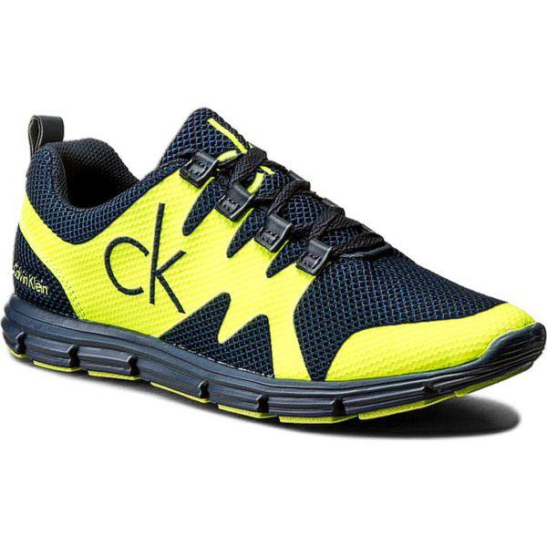 3945236c3d Sneakersy CALVIN KLEIN JEANS - Murphy SE8525 Navy Yellow Fluo - Buty ...