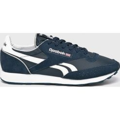 85de9a54cff826 Wyprzedaż - niebieskie buty sportowe męskie Reebok Classic, bez ...