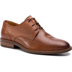 f3a99a7ae234c Półbuty TOMMY HILFIGER - Essential Leather Mix Shoe FM0FM02100 Cognac 606.  Eleganckie półbuty męskie marki