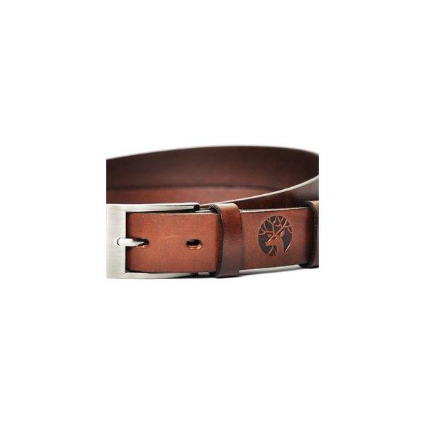 ab9cf236c63de Pasek Skórzany Męski Brązowy - Universal Brown - Paski męskie marki ...
