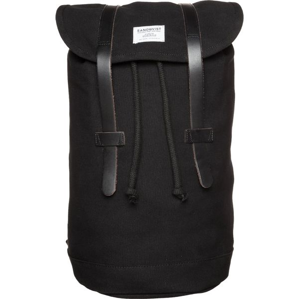 fde117c61b847 Sandqvist STIG Plecak black - Czarne plecaki męskie marki Sandqvist ...