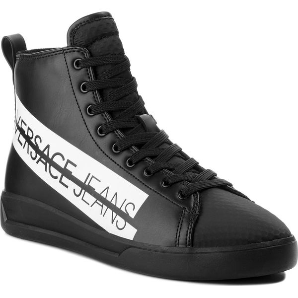 43af9c45cc9d8 Sneakersy VERSACE JEANS - E0YSBSH5 70849 899 - Czarne buty sportowe ...